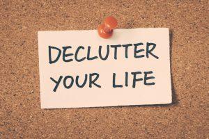 De-Cluttering My Life