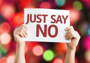 Do You Have a Hard Time Saying 'No""
